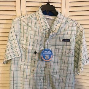 dc54c9ddcb1 Columbia Shirts | Mens Low Drag Super Short Sleeve Shirt | Poshmark